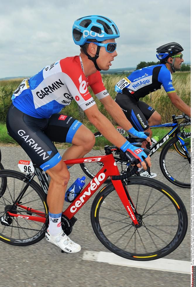 Tour de France 2014 - Stage 8: Tomblaine - Gérardmer La Mauselaine 161km photos - Sebastian Langeveld (Garmin-Sharp) Photo credit © Tim de Waele/TDW Sport