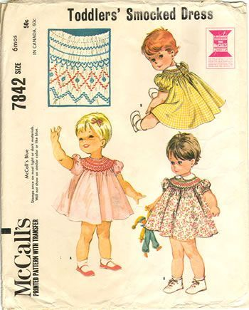 Heirloom Sewing For Children: Free Vintage Smoc… | Fashion Vegan ...
