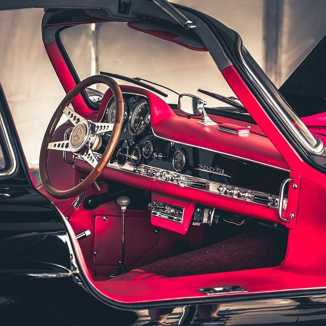 Beautiful Interior Mercedes Benz 300sl Photo Milkyrusk