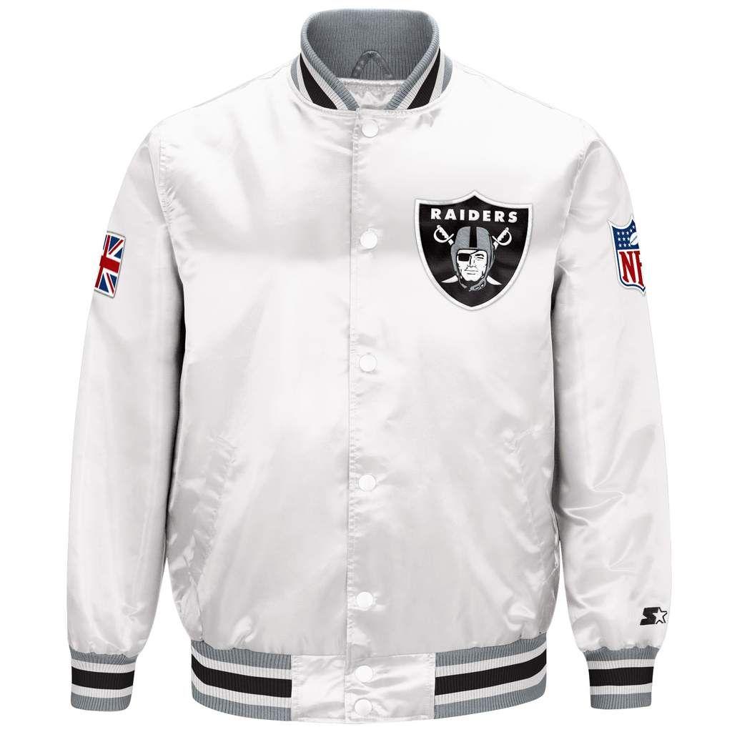 Limited Edition Oakland Raiders Satin Jacket Satin Jackets Jackets Oakland Raiders [ 1024 x 1024 Pixel ]