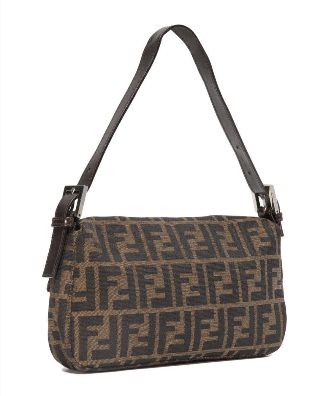 885208ad3031 Details about authentic vintage fendi handbag in 2019
