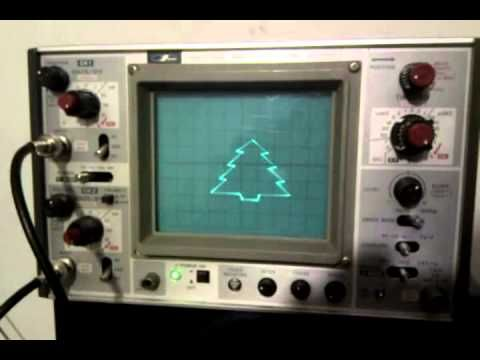 Christmas Tree With Xy Mode And An Arduino Natuurkunde