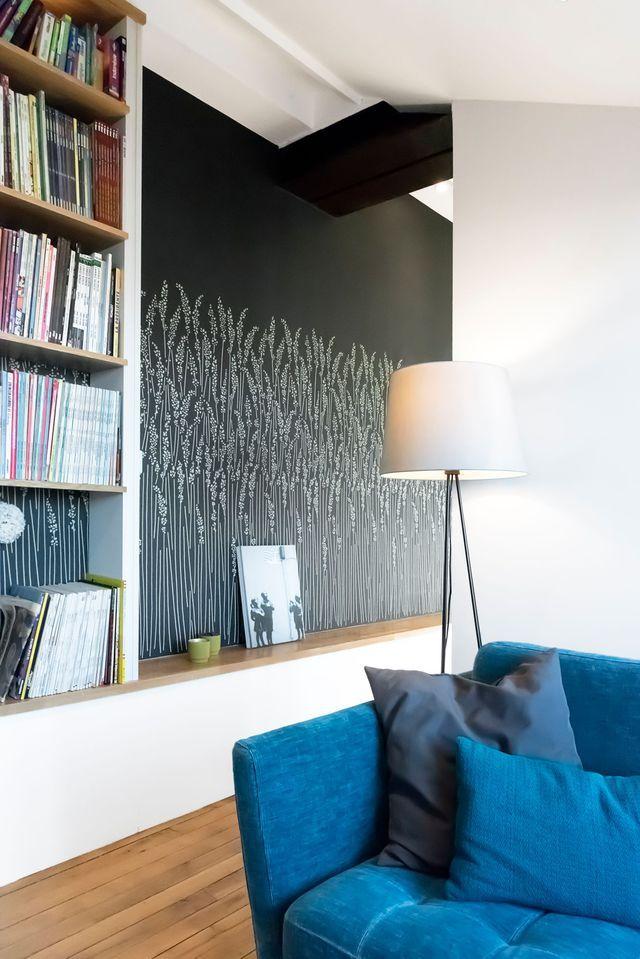 Séjour peinture  des idées pour peindre un mur du salon ou de la