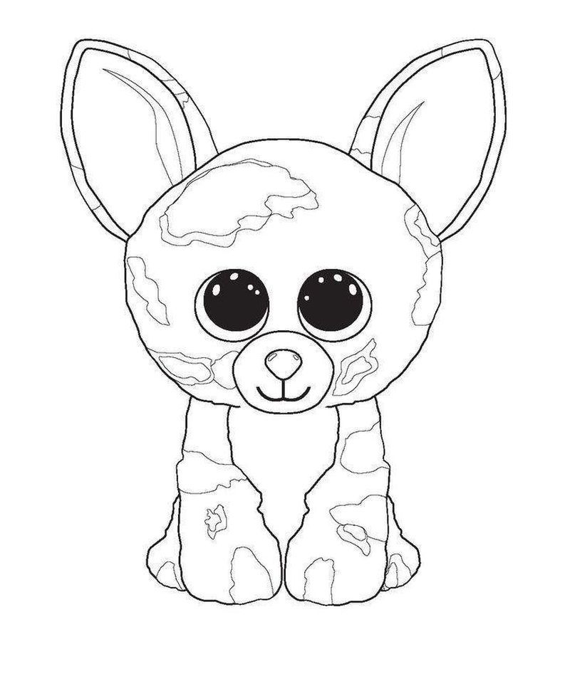 Beanie Boo Coloring Pages For Your Kids Beanie boo