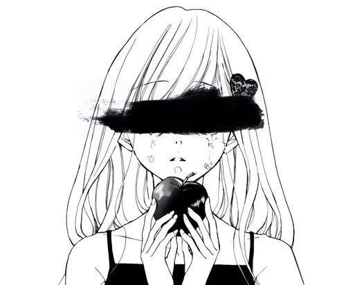 Anime black&white