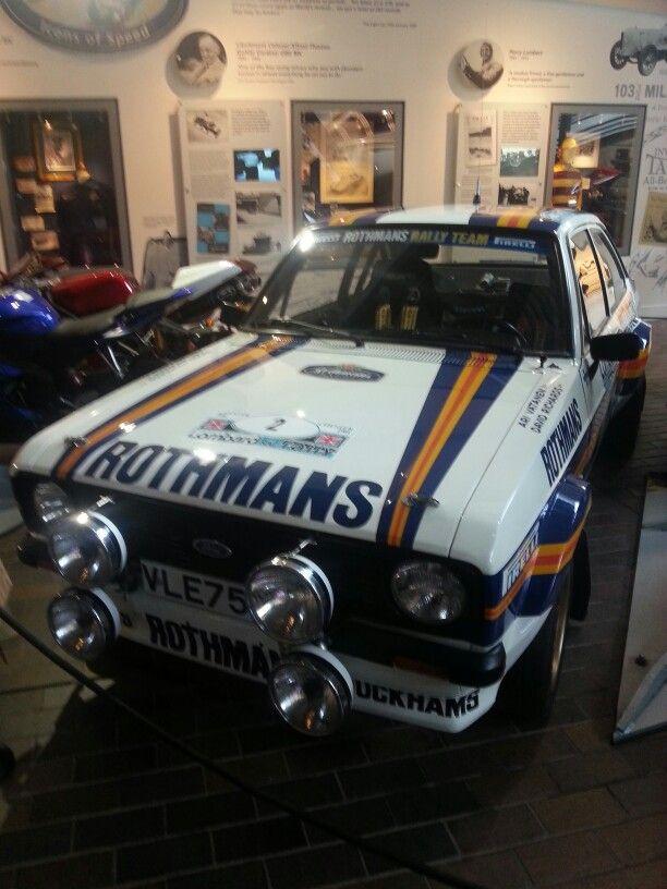 Rothmans ford escort mk2 rally | Cars | Pinterest | Ford escort ...