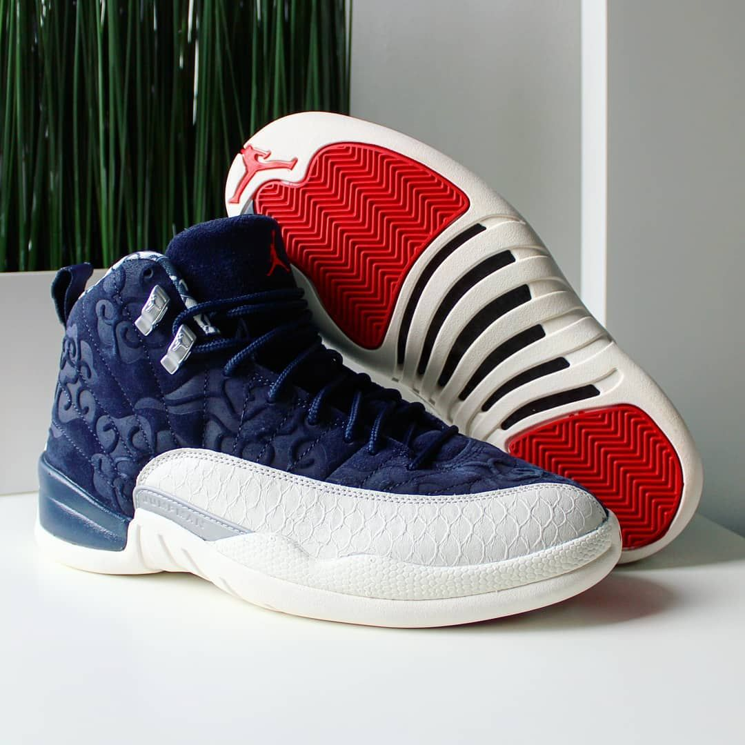 """3d5727b58b480 COP🔥or DROP🗑   Comment Tag a friend who will cop Go check out my Air  Jordan 12 Retro """"International Flight"""" on feet video. Quick link in bio."""