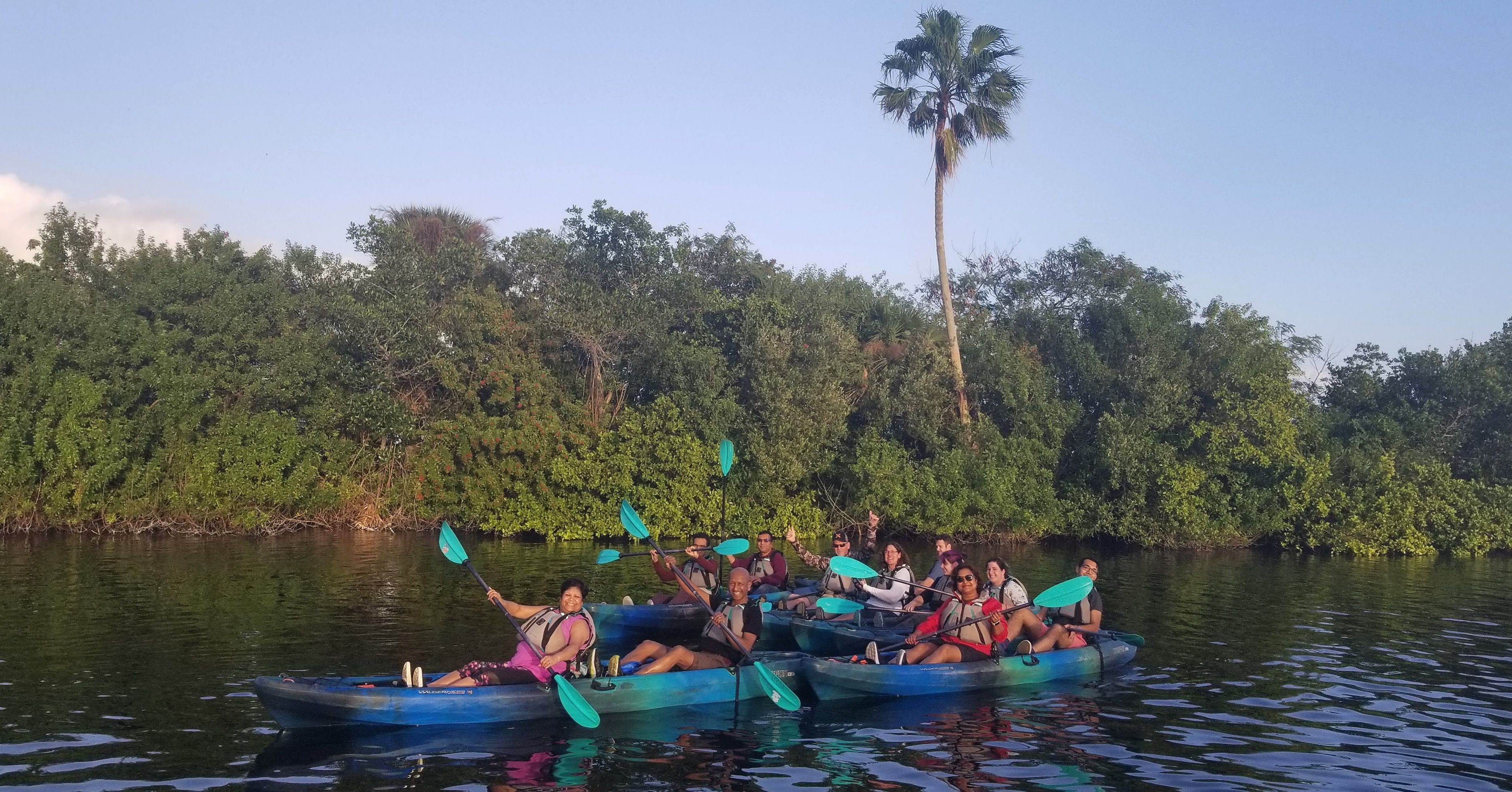 Kayak Tours In Titusville And Cocoa Beach Florida Cocoa Beach Kayaking Kayak Tours