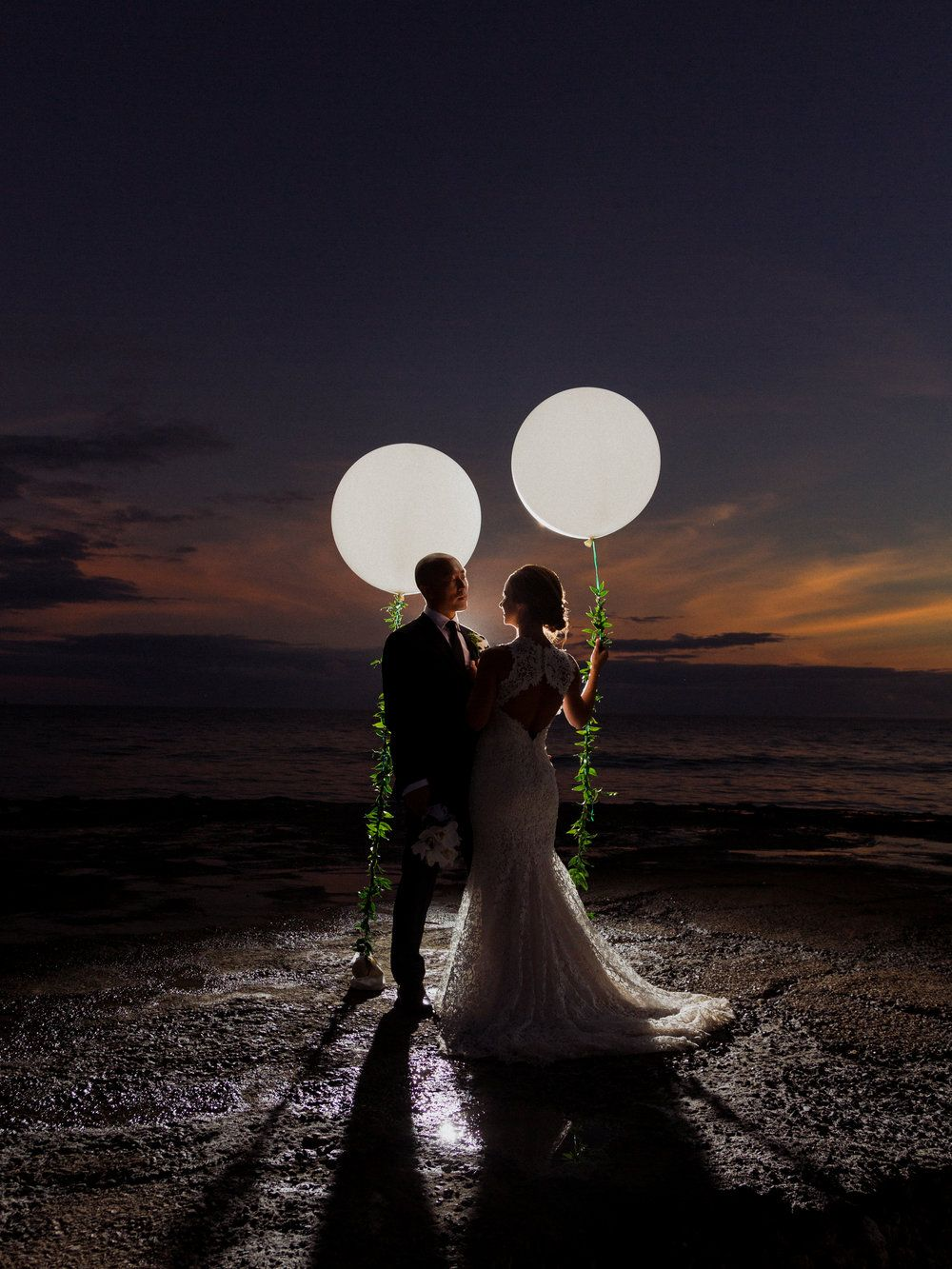 Night Wedding Photos Sunset Wedding Photos Night Wedding Photos Night Beach Weddings