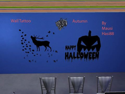 Sims 4 CC's - The Best: Wall Tattoos by MausiHasi