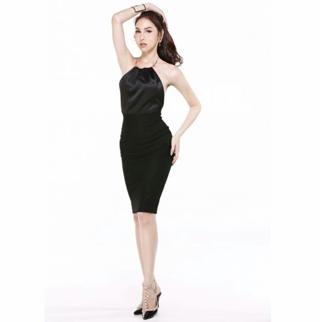 Black dress we heart it - Nadia Chan On We Heart It Http Weheartit Com Entry