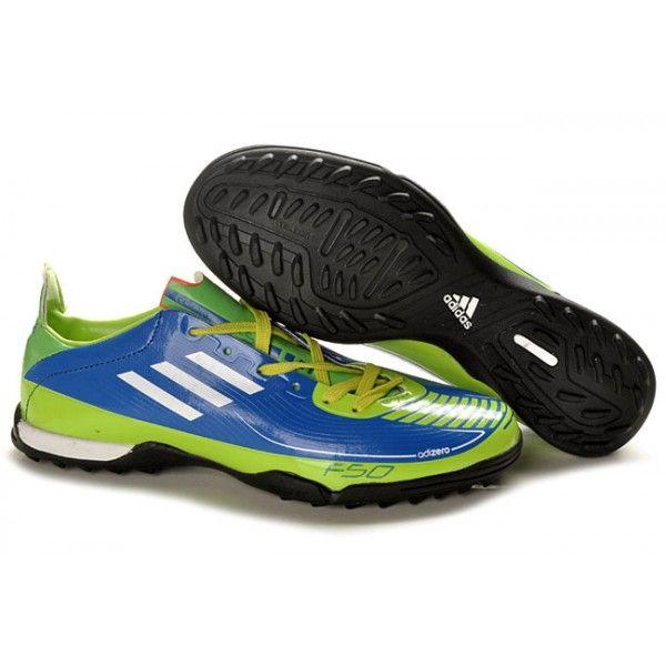 7ef4af82e38 ... buy adidas f50 adizero trx turf soccer shoes blue green white 9276b  98741