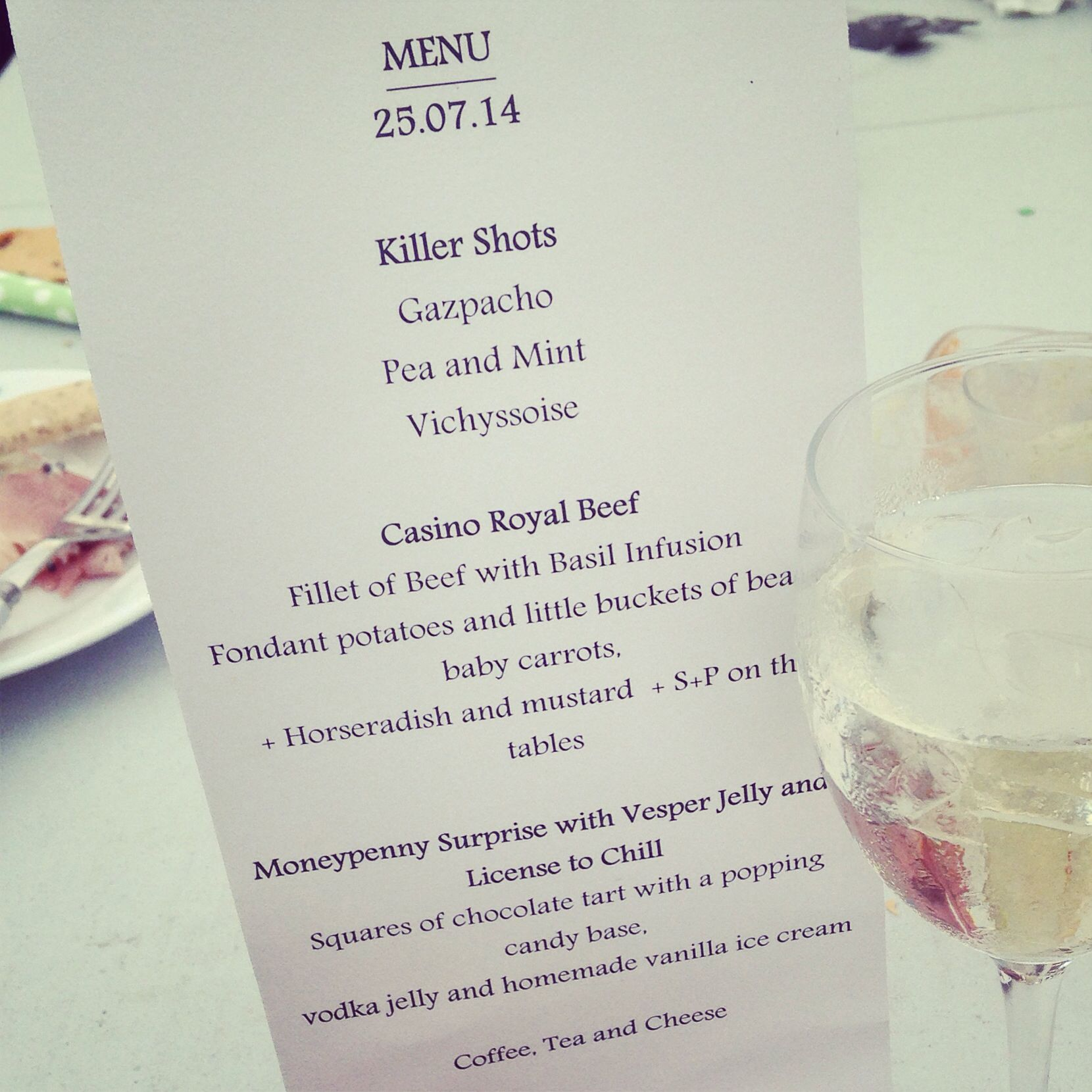 Dinner Party Themes And Menus Part - 31: The Menu #party #theme #london #food #events