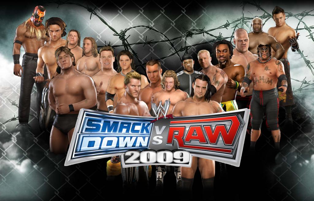 Smackdown Vs Raw 2009 Wallpaper Smackdown Vs Raw 2009 Desktop Background John Morrison Miz Hardy