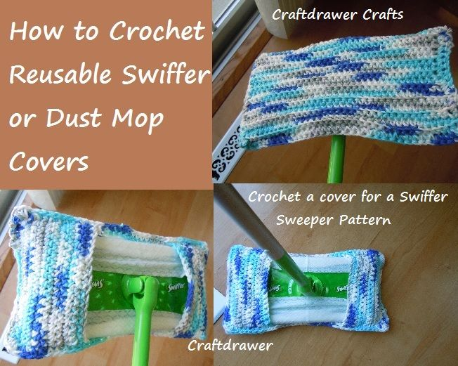 How to Crochet a Cover for Your Swiffer Sweeper of Dust Mop