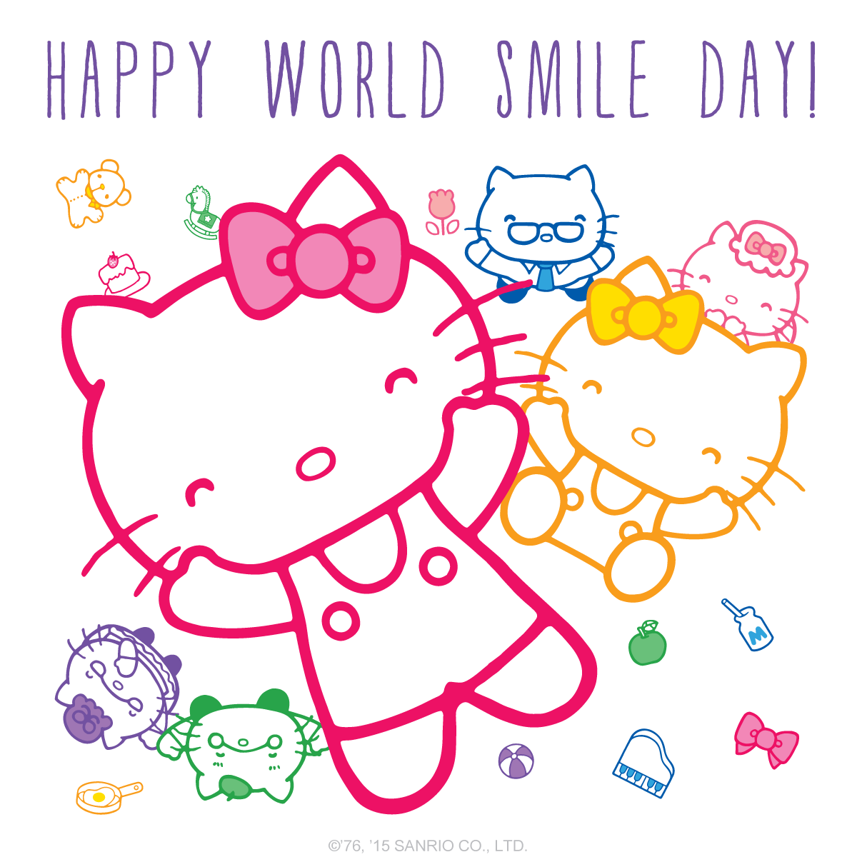 Sanrio Hello Kitty - Happy World Smile Day