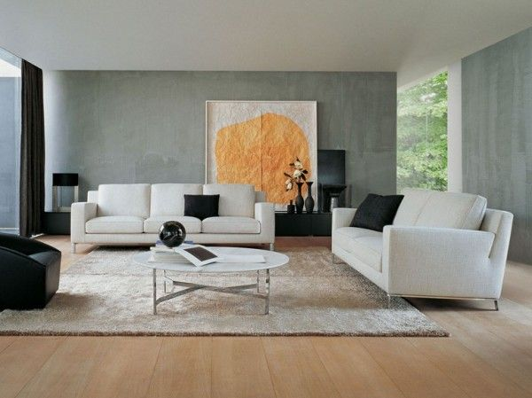 Can We Slide A Big Piece Of Art Over Some Of The Tv To Camoflouge Magnificent Big Living Room Designs Decorating Design