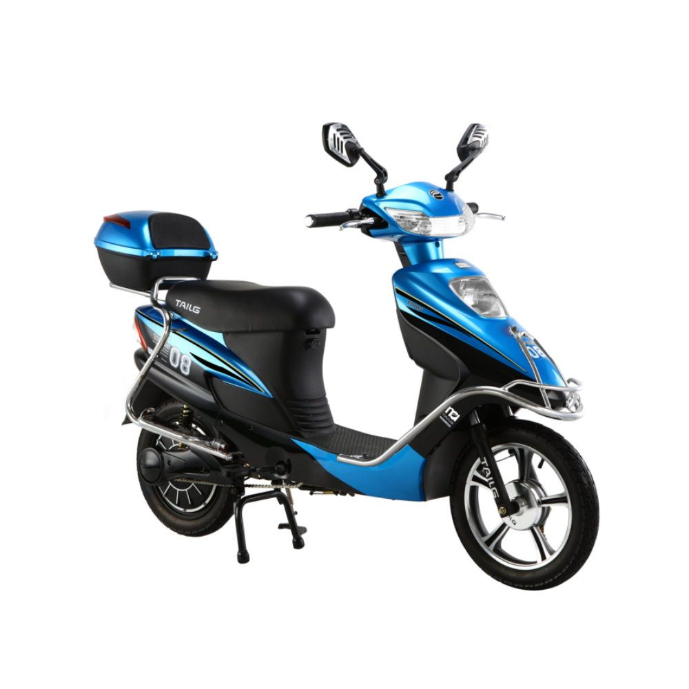 pioneer 350 watt electric motorcycle moped scooter electric bike electric scooter. Black Bedroom Furniture Sets. Home Design Ideas
