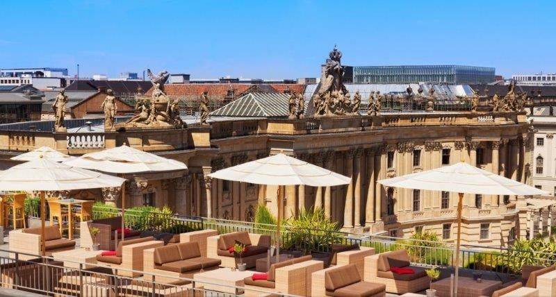 Large Rooftop Terrace With Great Views Over Opera And University And Wider Cityscape One Half Of This Can Be Hotel Rooftop Bar Best Rooftop Bars Rooftop Bar