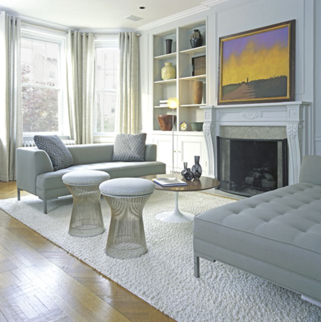 modern interpretation of a victorian living room. | living room