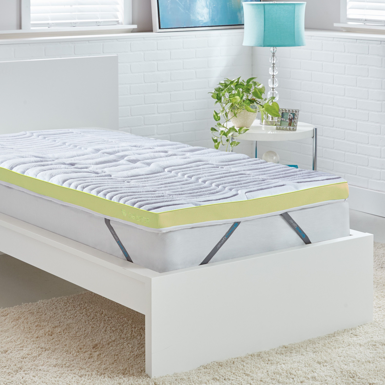black foam mattress topper. Bedgear Balance 3-inch Performance Latex Mattress Topper, Black Black Foam Mattress Topper