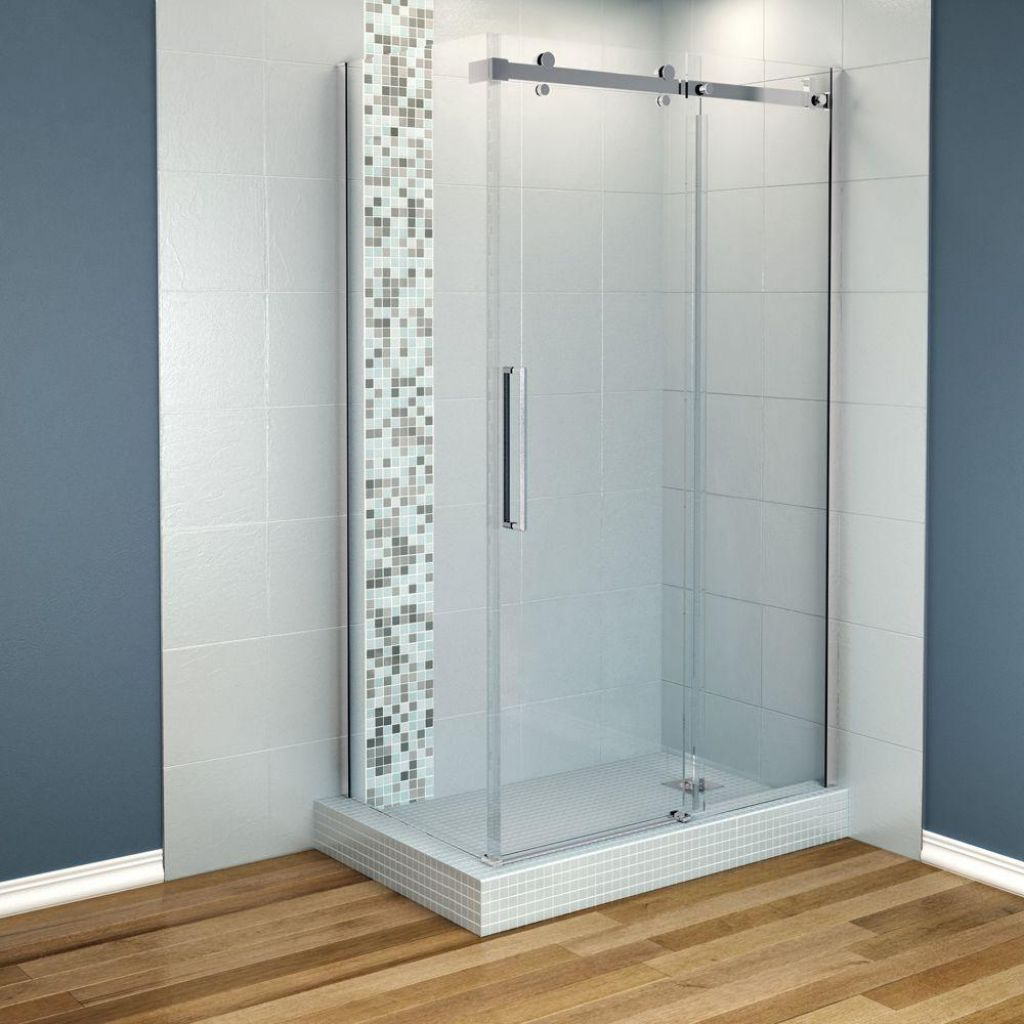 The shower stalls for small bathrooms come with many kinds of ...