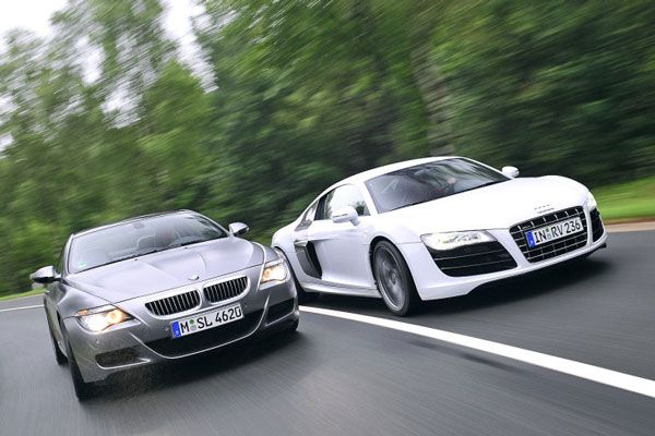 Audi R8 Vs Bmw M6 Is One Important Comparison Between Two Amazing Looking Units With Lots Of