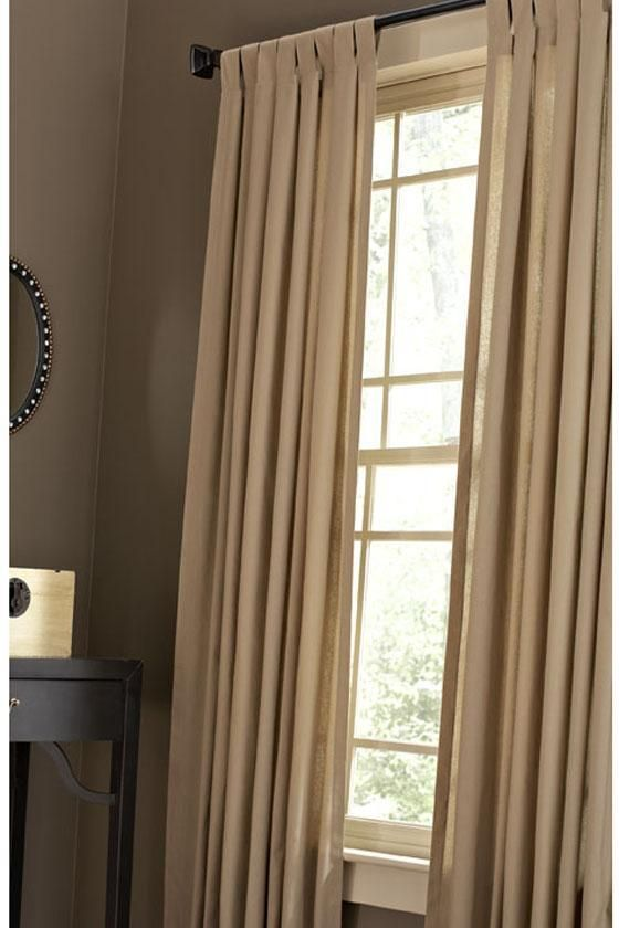 Martha Stewart Living™ Classic Cotton Drapery Panel   Draperies And Drapery  Rods   Home Accents   Home Decor | HomeDecorators.com