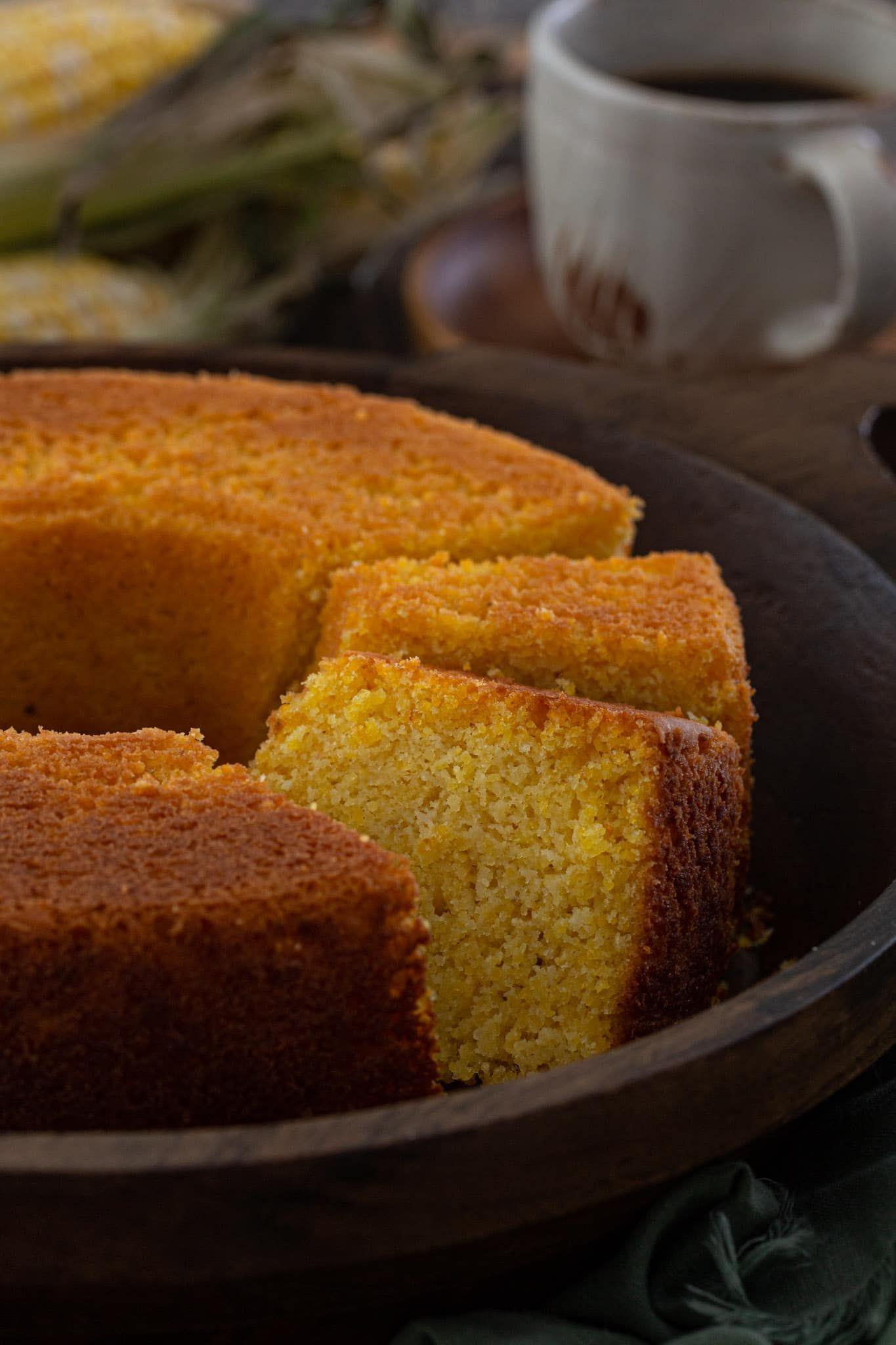 Brazilian sweet corn cake with coconut olivias cuisine