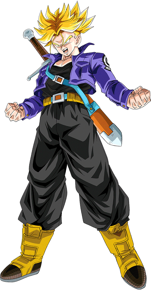 Future Trunks Ssj Render Dokkan Battle By Maxiuchiha22 Dragon Ball Super Manga Anime Dragon Ball Super Dragon Ball Image