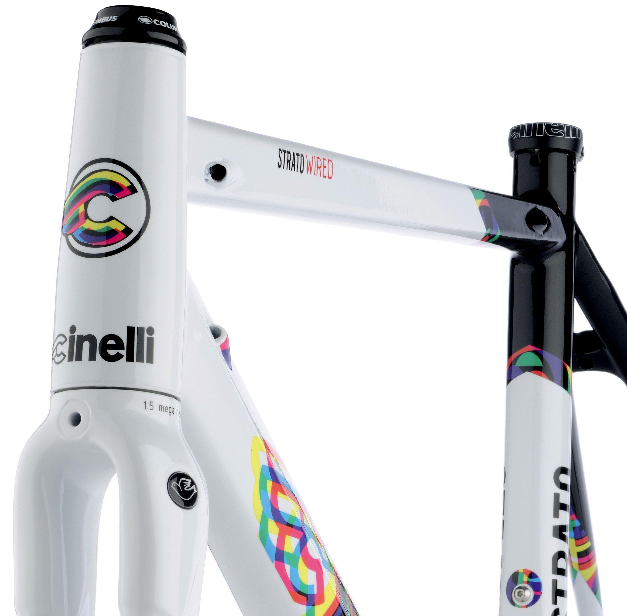 CINELLI VIGORELLI CALEIDO FRAME SET | Bicycles | Pinterest | Fixie ...