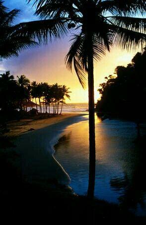 Brasil, Bahía, Itacaré: Praia de São José.