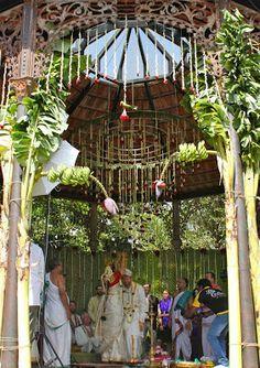 Kerala Wedding Entrance Banana And Coconut Decoration Google