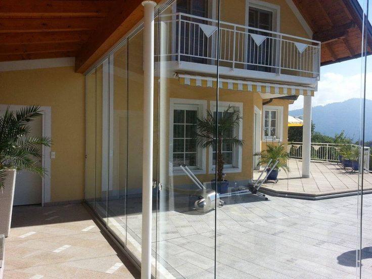 Glasschiebewand Terrasse Ihr Optimaler Windschutz Und Wetterschutz