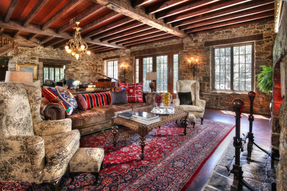 Country Home — Bryan David   Farm house living room ...