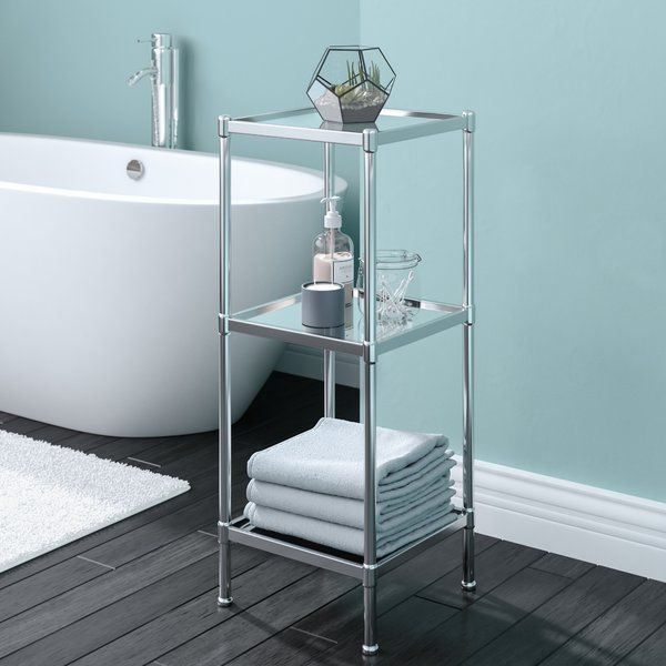 glacier 13 25 w x 33 75 h bathroom shelf bathroom pinterest rh pinterest com