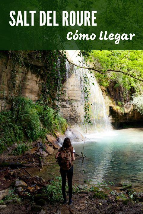 Una Preciosa Cascada En Medio De La Naturaleza De Cataluña Esta Poza O Gorg Es Genial Para Refrescarse En Ve Rutas De Senderismo Sitios Para Viajar Viajes
