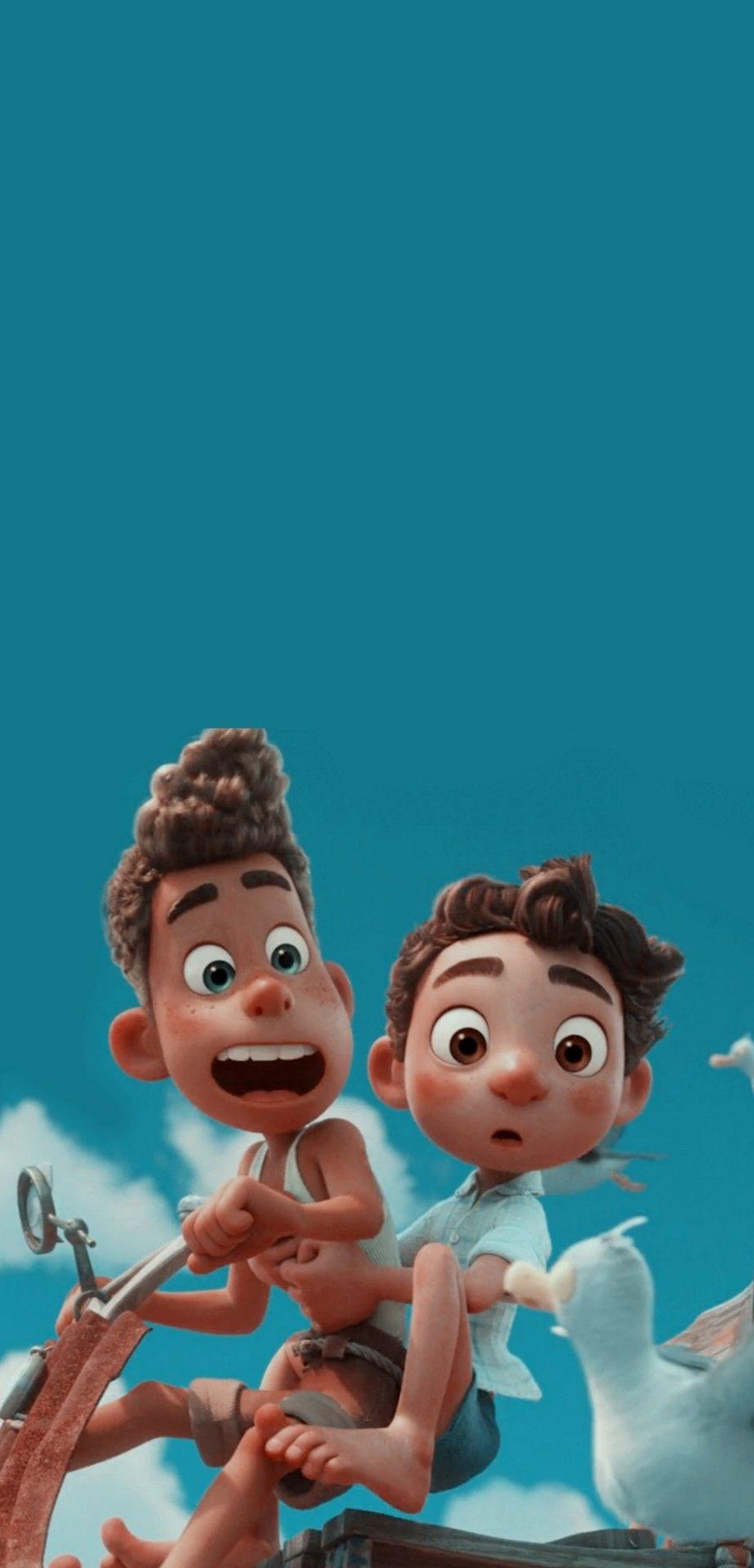 Luca Lockscreen In 2021 Disney Collage Disney Wallpaper Cute Disney Wallpaper