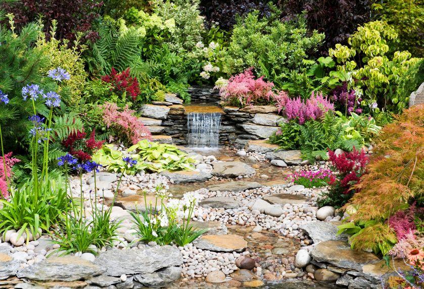 50 Pictures Of Backyard Garden Waterfalls Ideas Designs Waterfalls Backyard Small Garden Waterfalls Rockery Garden