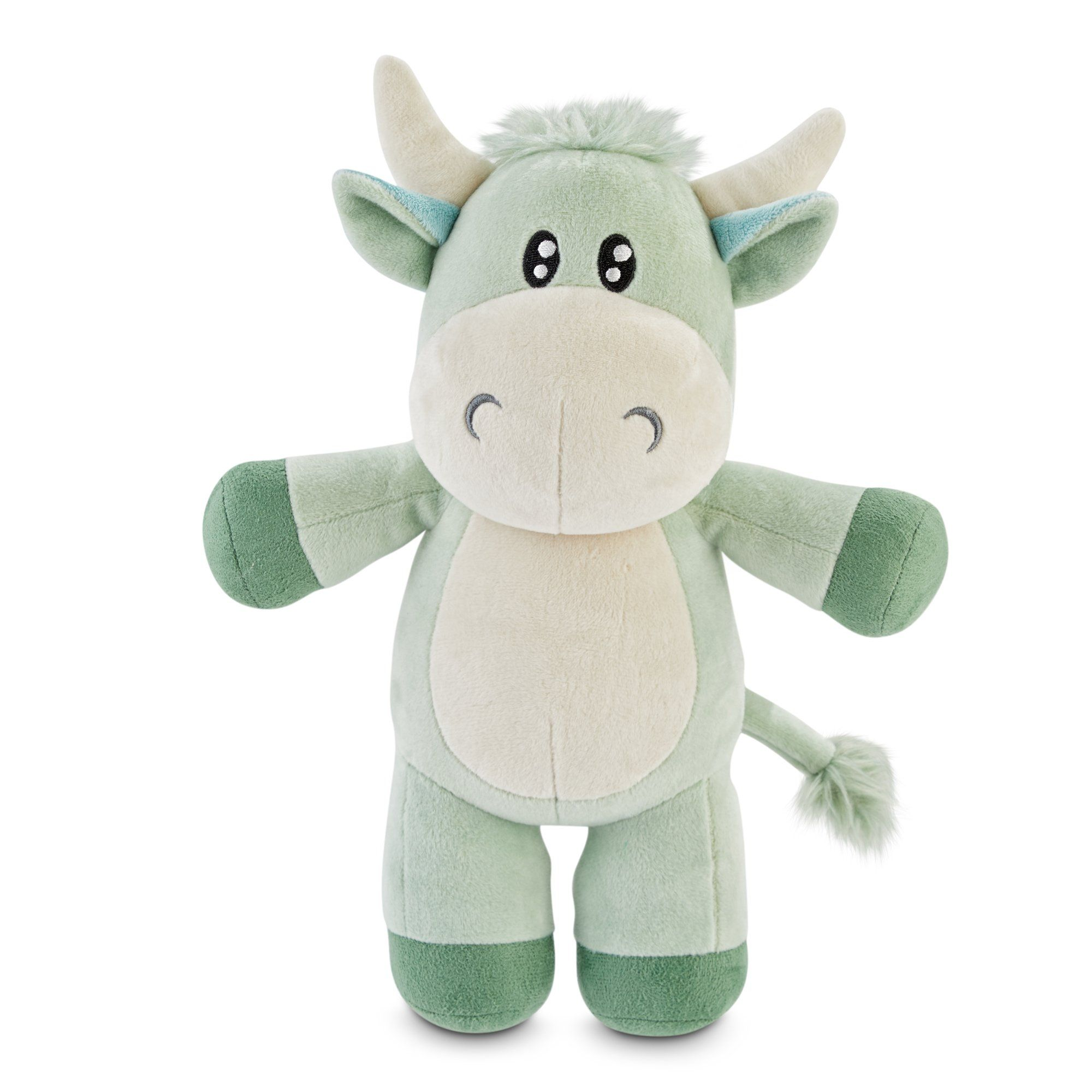 Serenity Cool Calm And Cow Lected Plush Dog Toy In Assorted Styles