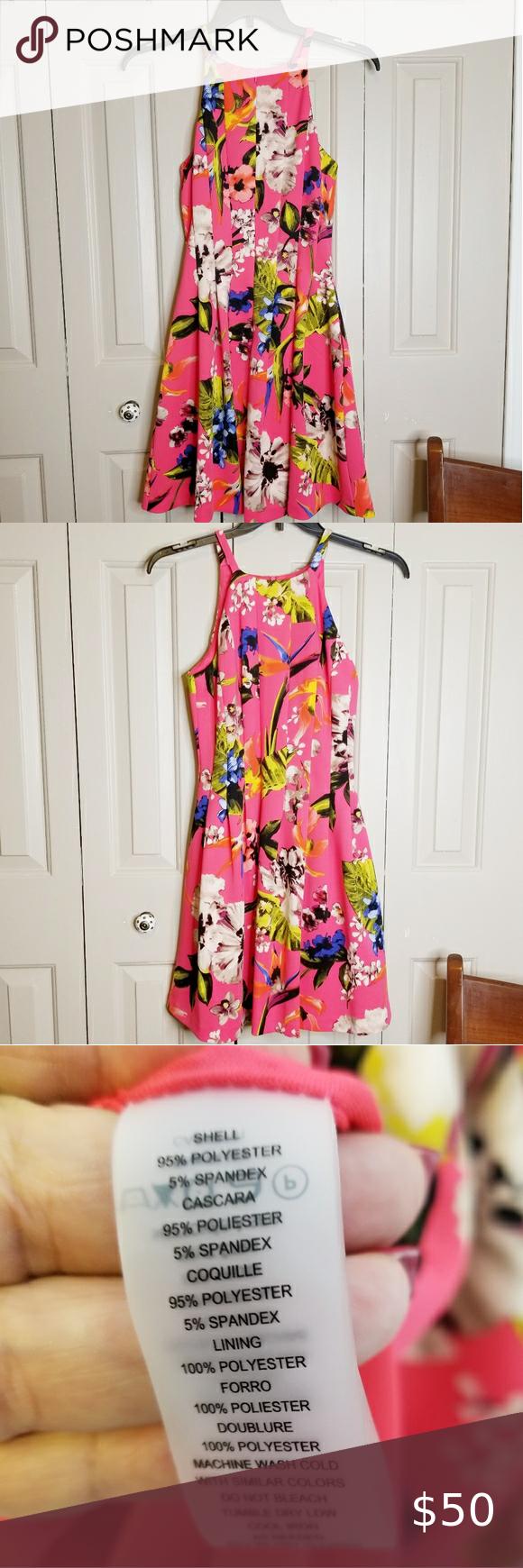 Vince Camuto Pink Floral Dress Pink Floral Dress Floral Dress Pink Sleeveless Dress [ 1740 x 580 Pixel ]