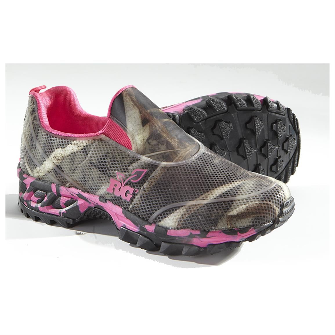 bdd4d3780c Women's Realtree® Viper Casual Moc Slip-on Shoes, Hot Pink / Max 5 ...