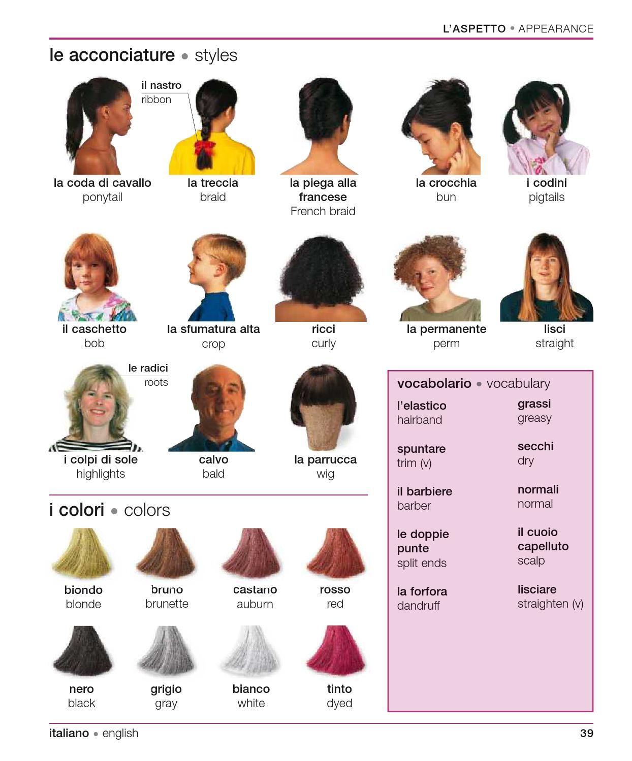 Italian English Visual Bilingual Dictionary Con Immagini