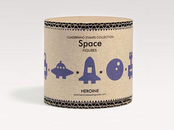 https://www.behance.net/gallery/21458169/Space-stamps-set