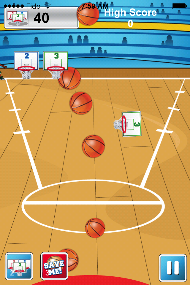 Slam Dunk Basketball Bring You All The Excitement And Roar Of A Nba Basketball Game And You Are The Basketball S With Images Nba Basketball Game Basketball Nba Basketball