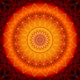 Mandala Energie 1 by Christine Bässler - Bestseller on fineartprint.de