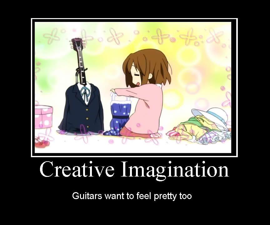 Funny Anime Meme Site : Yui s anime k on imagination the best pics d