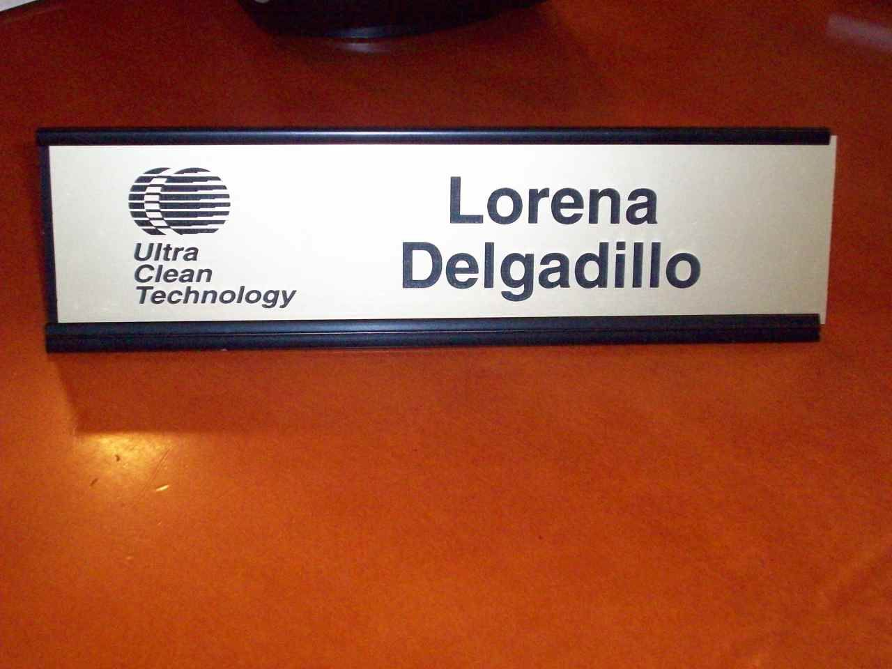 We Make Laser Engraved Name Plates For Large Companies And