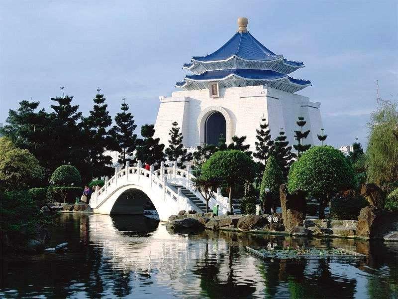 中正紀念堂 Chiang Kai Sek Memorial Hall, Taipei-Taiwan