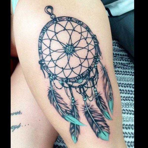60 Dreamcatcher Tattoo Designs | Dreamcatcher tattoos ...